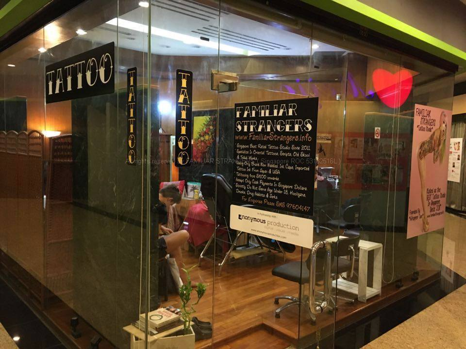 FAMILIAR STRANGERS, Singapore's Best Rated Tattoo Studio.